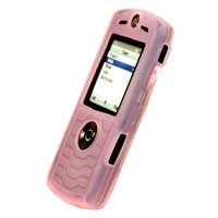 Motorola SLVR L7 Pink Silicone Skin Case [Wireless Phone Accessory]