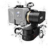 Feiyu Tech FY WG2 Wasserdichte Wearable Kardan und SBONY Objektiv Tuch, Anti-Lost Handgelenk Band und Quick Car Charger mit Qualcomm 3.0 für GoPro Hero5 / 4 / Session und ähnliche Dimensionen Action Kamera (FY WG2)