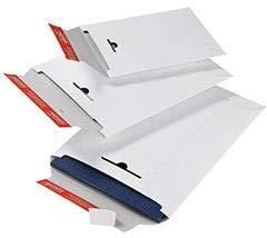 Versandtaschen Karton 320x455 weiß f.A3 aus Vollpappe 10 Stück