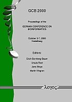 Proceedings of the GERMAN CONFERENCE ON BIOINFORMATICS 2000