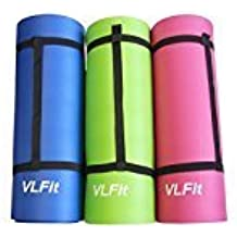 Esterilla de yoga/pilates sin ftalatos y con certificado SGS - 15mm grueso - varios colores