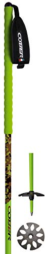 Cober Unisexe 8054934605185 Freeride Camo XXL Bâtons de 130 cm, Multicolore, Taille Unique