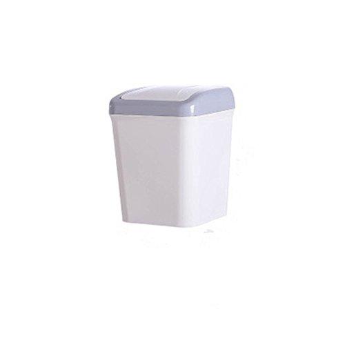 Wicemoon Desktop Mini Desktop Mülleimer, Papierkorb Kaffee-Tasse mit Papierkorb mit Abdeckung,...
