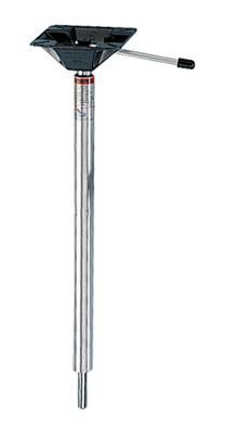 Springfield Marine 1632013 Kingpin Power-Rise Threaded Pedestal - 22.5-29.5 in. by Springfield
