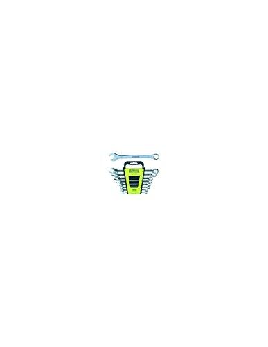 Outifrance 1003060 Jeu de 8 clés: 8/9 / 10/11 / 13/14 / 17/19 mm, Chrome