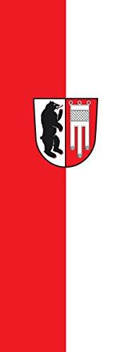 magFlags Drapeau Amtzell | portrait flag | 6m² | 400x150cm