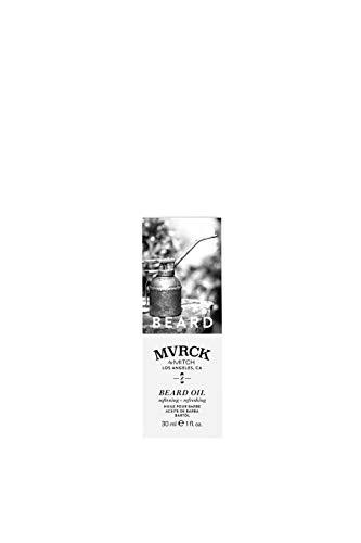 MVRCK by Mitch Beard Oil - erfrischendes, feuchtigkeitsspendendes Bart-Öl für mehr Kontrolle und Glanz, intensive Bart-Pflege mit Sheabutter - 30 ml