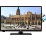 JVC LT-24C655 Smart 23.6' LED TV with Built-in DVD Player