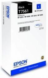 1x Cartouche d'encre d'origine pour EPSON WorkForce Pro wf-8090DTW T7561T 7561–Black –-Puissance: env. 2500pages/5%