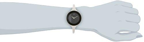 Calvin Klein Damen-Armbanduhr Mirror Black, Gr. S, K2823130 -