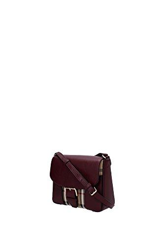3997089 Burberry Sac à bandoulière Femme Tissu Rouge Rouge