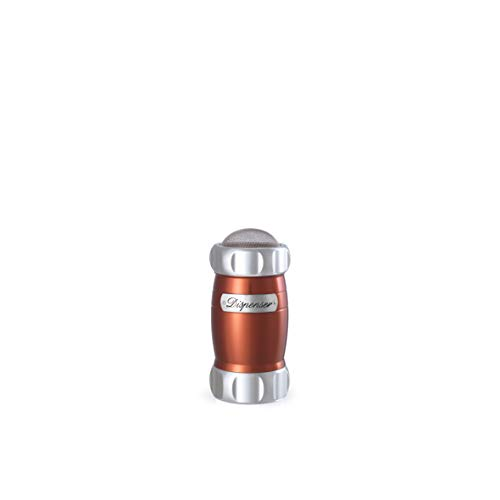Dispensador de harina y cacao rojo