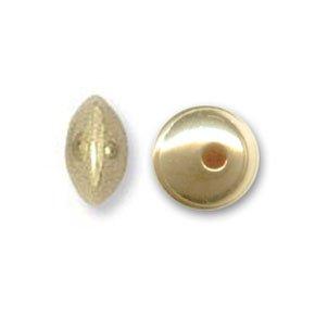 Perles intercalaires 4 mm Gold filled 14 carats x10