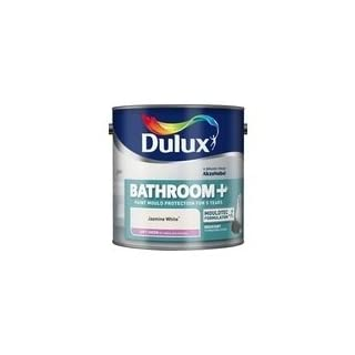 Dulux Paints 2.5 Litre Ready Mixed Bathroom + Soft Sheen Jade White by Dulux paints