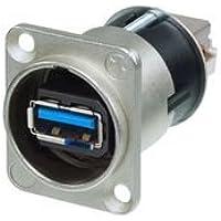 USB Adapter, 3.0Type A-type B, RCPT nausb3de Neutrik