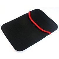 SVVM Tablet Sleeve 7inch Bag, Case, Pouch Reversible Black & Red Model: TS-7-BR