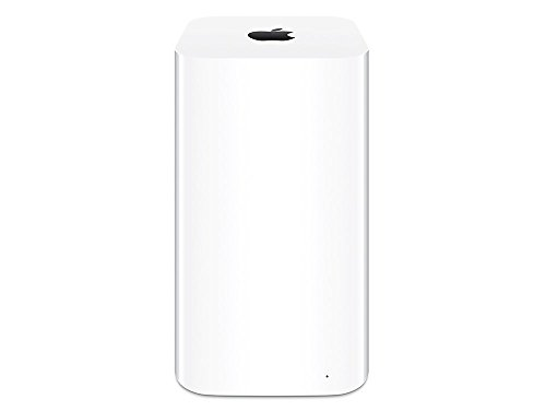 Apple ME182Z/A AirPort Time Capsule Wireless-LAN Basisstation bis 3TB weiß weiß (Airport-basisstation)