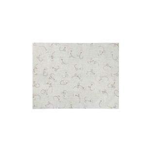 Lorena Canals Waschbarer Teppich English Garden Ivory Natürliche Baumwolle -Elfenbein, Beige, Linen, Weiß- 210x140 cm - Natürliche Beige-teppich