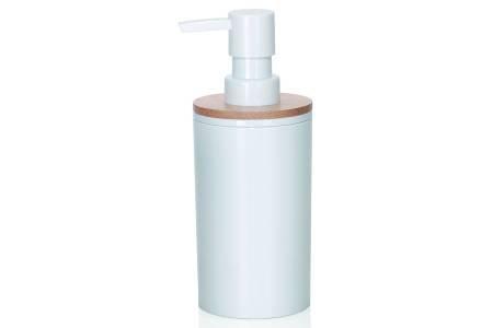 Andrea M273413 - Dispensador baño jabon acrilico con Madera