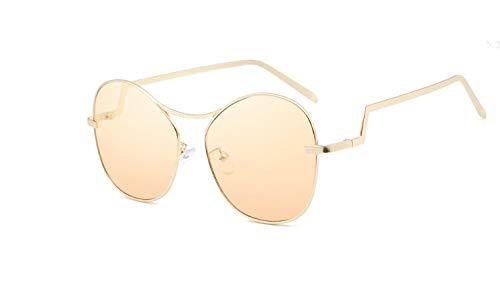 WUJIEXIAN-JXL Klassische Punk Sonnenbrille Ellipse Sonnenbrille Persönlichkeit nautischen Film Sonnenbrille Outdoor-Brille (Color : E) -