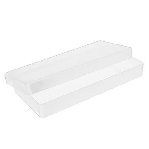 5x hoja de plástico transparente cajas de almacenaje–envío gratuito.