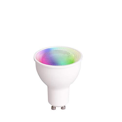 tint, das smarte Lichtsystem von MÜLLER-LICHT - LED Lampe Reflektor GU10 white+color (Weißtöne 1800-6500K + farbiges Licht RGB, ersetzt >50W Glühbirne, funktioniert mit Amazon Alexa) - Reflektor Lampe Licht