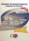 Temario, Test y Supuestos Prácticos Oposiciones Operarios de Establecimientos (Personal de Oficios). Diputación de Zamora (Colección 775) por Sin datos
