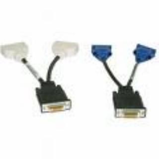 Original Dell DMS-59auf Dual DVI und DMS-59auf Dual VGA Y Splitter Kabel Dual Monitor Kit DELL Teilenummern-H9361, G9438, J9256 - Dms-59 Dual-dvi