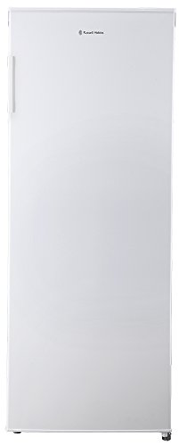Russell Hobbs Freestanding 142cm Tall Larder Fridge, A+ Rating, 235Litre Capacity, White, RH55LF142