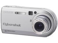 Sony Cyber-shot DSC-P100 Kompaktkamera 5.1MP 1/1.8Zoll CCD 2592 x 1944Pixel Silber - Digitalkameras (Kompaktkamera, 5,1 MP, 1/1.8 Zoll, CCD, 2592 x 1944 Pixel, 640 x 480,1280 x 960,2048 x 1536,2592 x 1728,2592 x 1944)