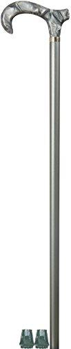 Modischer acrylfarbener Derby-Griff, champagnerfarbiger Harzholz-Stil + 2 Ersatzhülsen (erste Qualität) - Somerset 2 Sitze