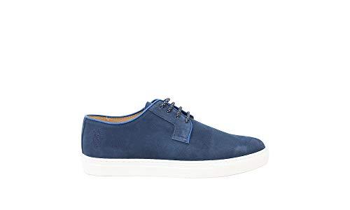 Sneaker Uomo U.S. POLO ASSN in camoscio Blu (44)