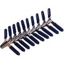 Ganzúas con alas grapas Padlock shims Candado Abrir sin Dietrich azules Pinza de Metal.