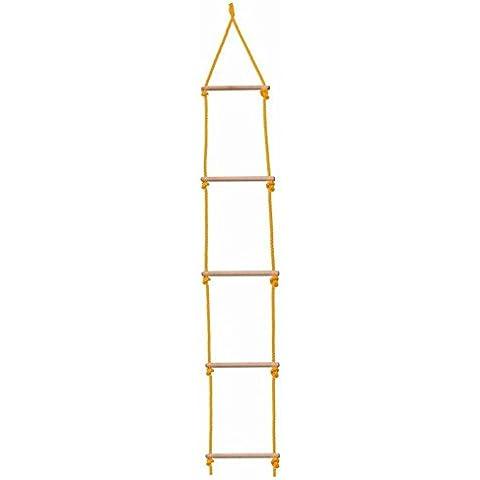 Escala de cuerda - madera / Escalada escalera - escalera escalera MADERA - NATURAL Kinderland