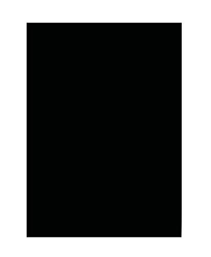 fotokarton schwarz folia 6390 Tonpapier (DIN A3, 50 Blatt) schwarz