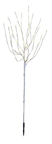 Best Season LED-Tobby Tree weiß 110 cm / 110 x 40 cm / 70 cm warm weiß LED mit Trafo / outdoor (Warm Weiß Led Weihnachten Tree)