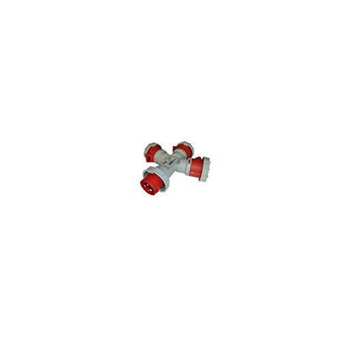 Industrie ADAPTER PLUG 1 + 3 MAURER STELLEN 380V 3P + E 16A CE