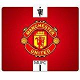 26x 21cm/25,4x 20,3cm Personal Gaming Mousepad Präzise Tuch und umweltfreundlichem Gummi Wasserabweisend Standard Manchester United FC Fußball Club Logo