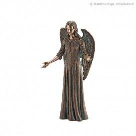 Serafinum Segnender Engel Bronze Statue - Angelo Benedera / Grün (Engel Bronze Statue)