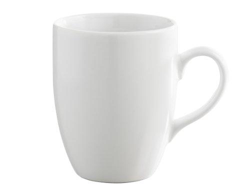 REVOL 635138 Eva Mug Porcelaine Blanc 10,5 cm - Lot de 6