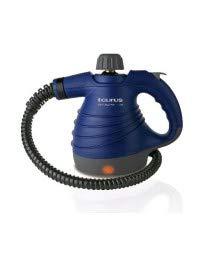 Taurus Rapidissimo Clean Vaporeta, 1050 W, 0.37 litros, 18/10 Steel, Negro, Azul