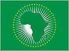 African Union White Ensign 3Ft Afrika Flagge