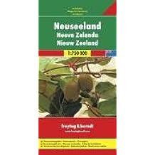 Freytag Berndt Autokarten, Neuseeland - Maßstab 1:750 000