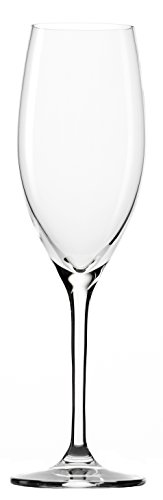 Bicchieri da champagne stölzle lausitz classic da 240ml, set da 6, qualità raffinata, lavabili in lavastoviglie,