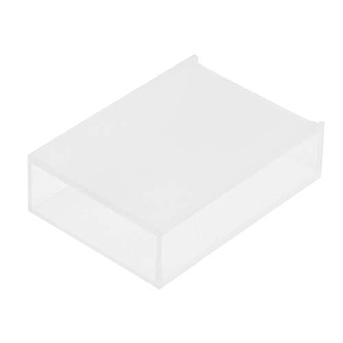 Homyl 1x Fluoreszenz Glasküvette für Spectrophotometry Um Referenz- und Probenlösungen...