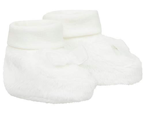 Döll Baby-Mädchen Babyschuhe Socken, Weiß (Snow White 1050), One Size (Herstellergröße: 0, 5)