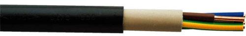 erdkabel pro meter Erdkabel NYY-J 5x4 qmm Starkstromkabel, (Preis pro Meter, Lieferung erfolgt in einer Länge)