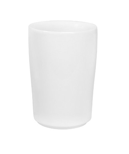 Kahla 394605A90039C Maxi-Becher, 0,35 L, Five Senses, weiß Weiße Becher