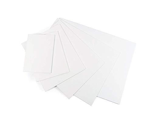 Guerrilla Painter 498.12 x 12 Plein Air Artist Extra fein, ölgrundiertes Leinen, 30,5 x 30,5 cm, Weiß (En Plein Air Pro)