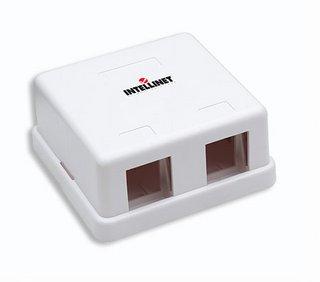 Intellinet 162852 Blanco caja de tomacorriente - Caja registradora